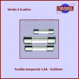 Fusible 1.6A Temporisé 5x20mm en verre CYB-016919