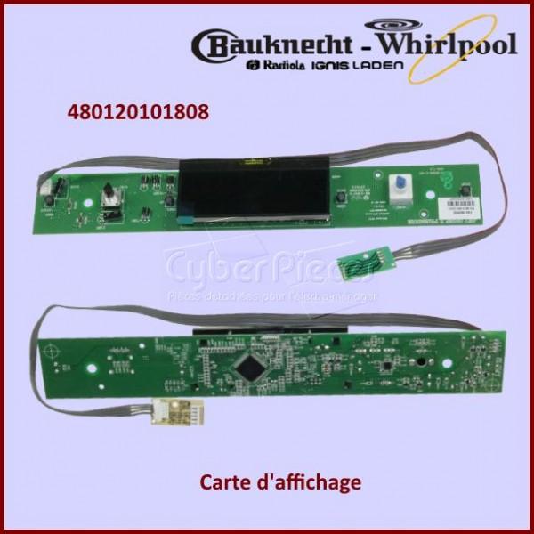 Carte d'affichage Whirlpool 480120101808