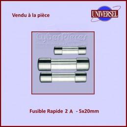 Fusible 2A Rapide 5x20mm en...