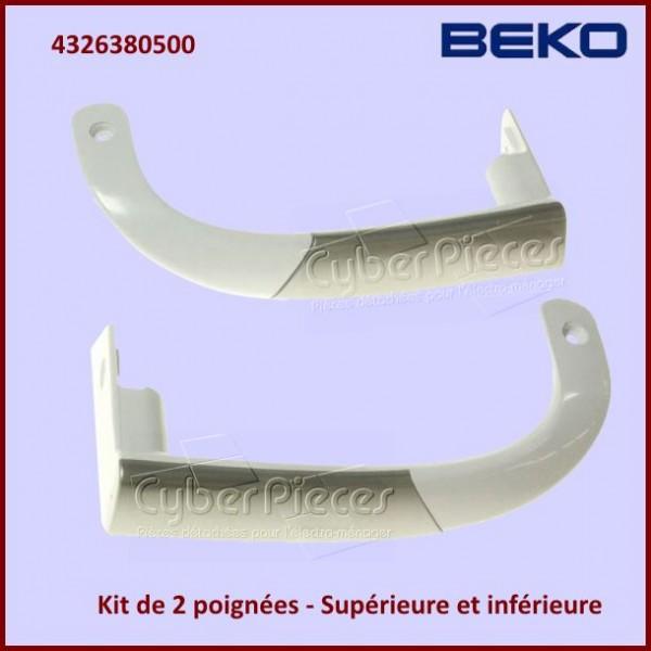 Kit 2 poignées de porte Beko 4326380500