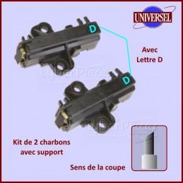 Charbon moteur avec support 30x13x4,5mm Type D CYB-008228