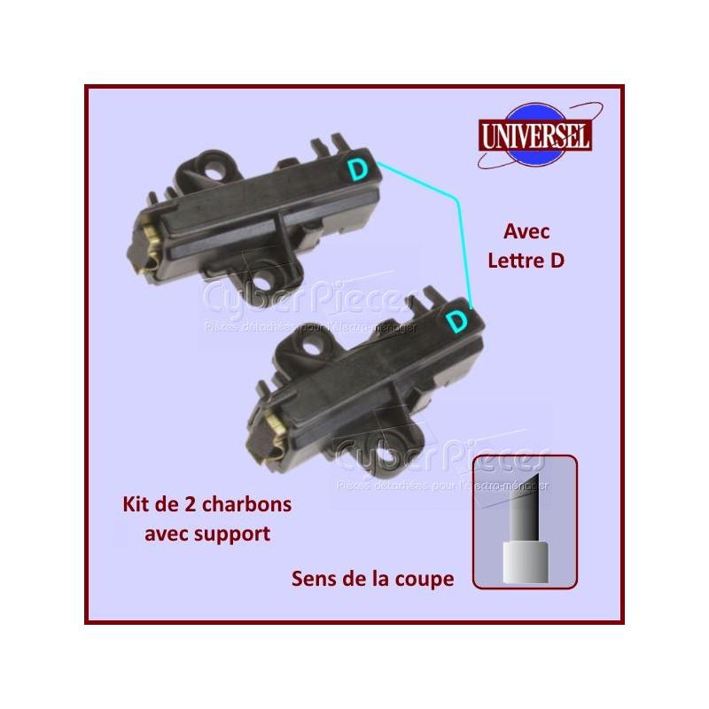 Charbon moteur avec support 30x13x4,5mm Type D