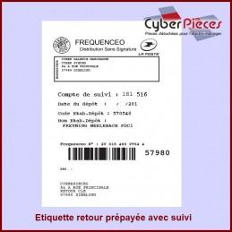Étiquette retour Prépayée...