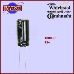 Condensateur 1000,0µF (1000,0MF) - 25V maxi. CYB-182003