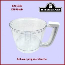 Bol avec poignée Blanche...