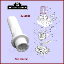 Axe central Kitchenaid 8211816