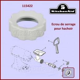 Écrou de serrage pour hachoir Kitchenaid FGA 115422 CYB-017503