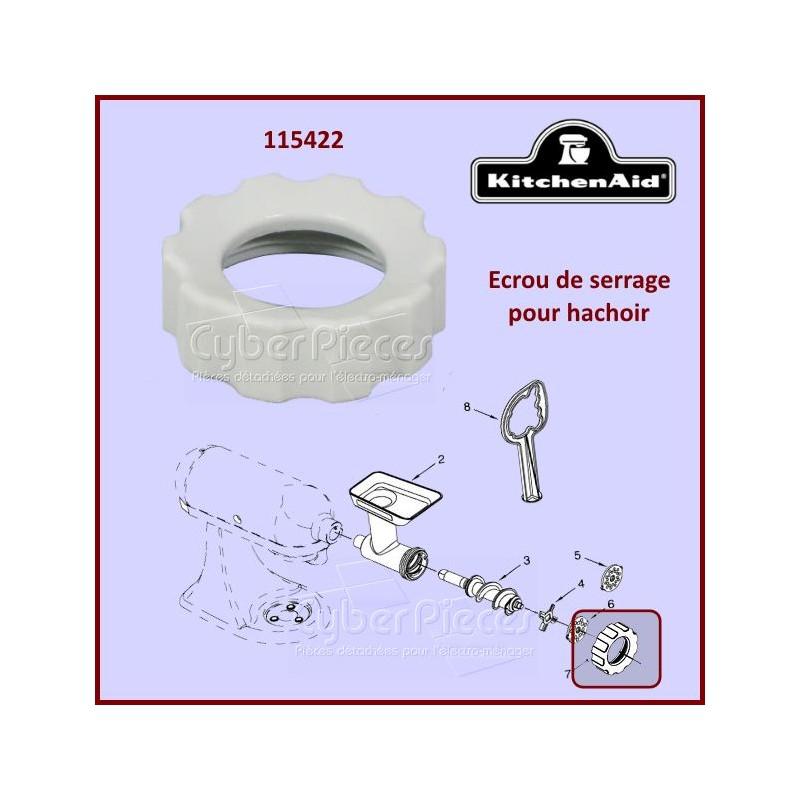 Écrou de serrage pour hachoir Kitchenaid FGA 115422