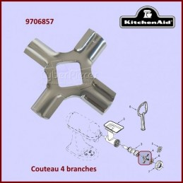 Couteau 4 branches Kitchenaid FGA 9706857 CYB-353199