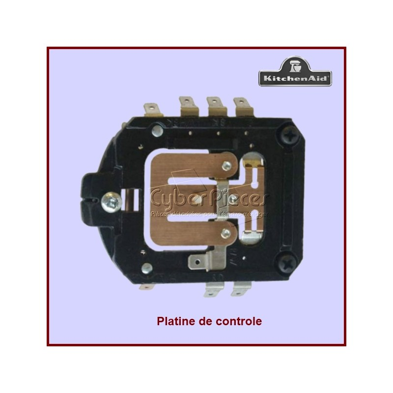 Platine de contrôle Kitchenaid 4162402 W10119326