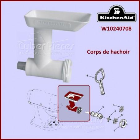 Corps de hachoir Kitchenaid FGA W10240708