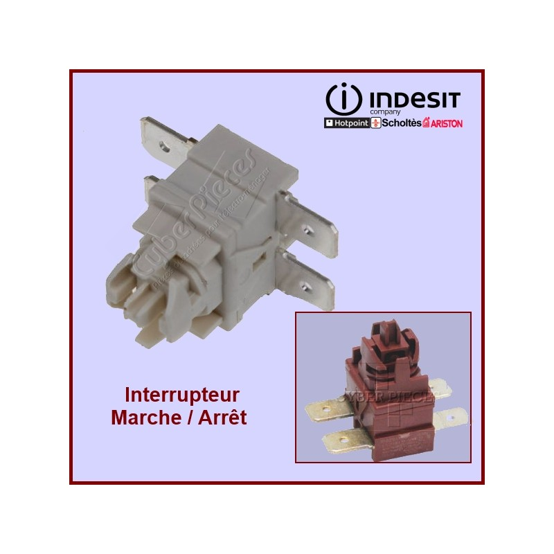 Interrupteur bipolaire on-off  C00142650 (kitchenaid 4176411 )