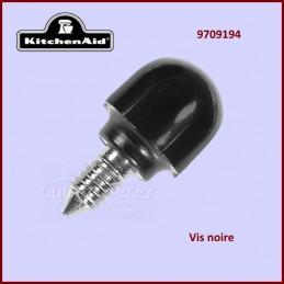 Vis noire de fixation Kitchenaid 9709194 - 4162142 CYB-351171