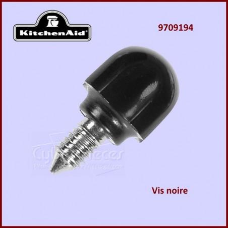Vis noire de fixation Kitchenaid 9709194 - 4162142