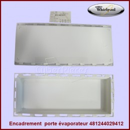Encadrement porte freezer Whirlpool 481244029412 CYB-082389