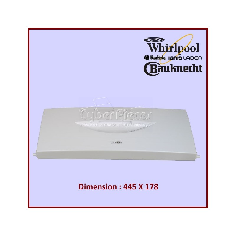 Portillon du Freezer Table Top Whirlpool 481241619642