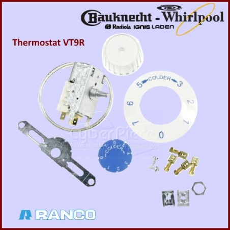 Thermostat A130460R - VT9R Whirlpool 484000008686