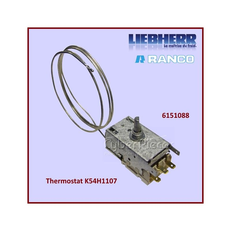 Thermostat K54H1107 Liebherr 6151088