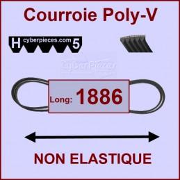 Courroie 1886H5 non élastique CYB-004220