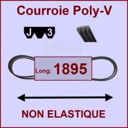 Courroie 1895 J3 (remplacée par J4) non élastique (LW1895) CYB-004442