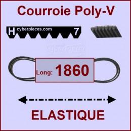 Couroie 1860H7 - EL- élastique CYB-427777