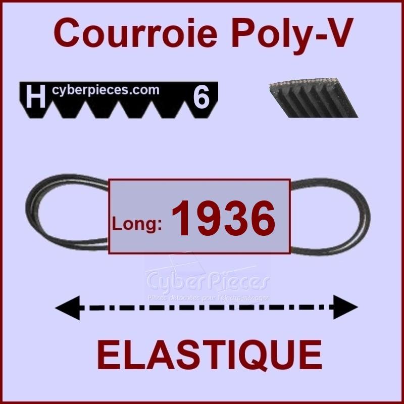 Courroie 1936H6 - EL - élastique