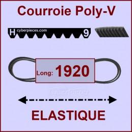 Courroie 1920H9 - EL- élastique CYB-003841