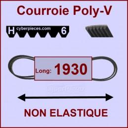 Courroie 1930H6 non élastique
