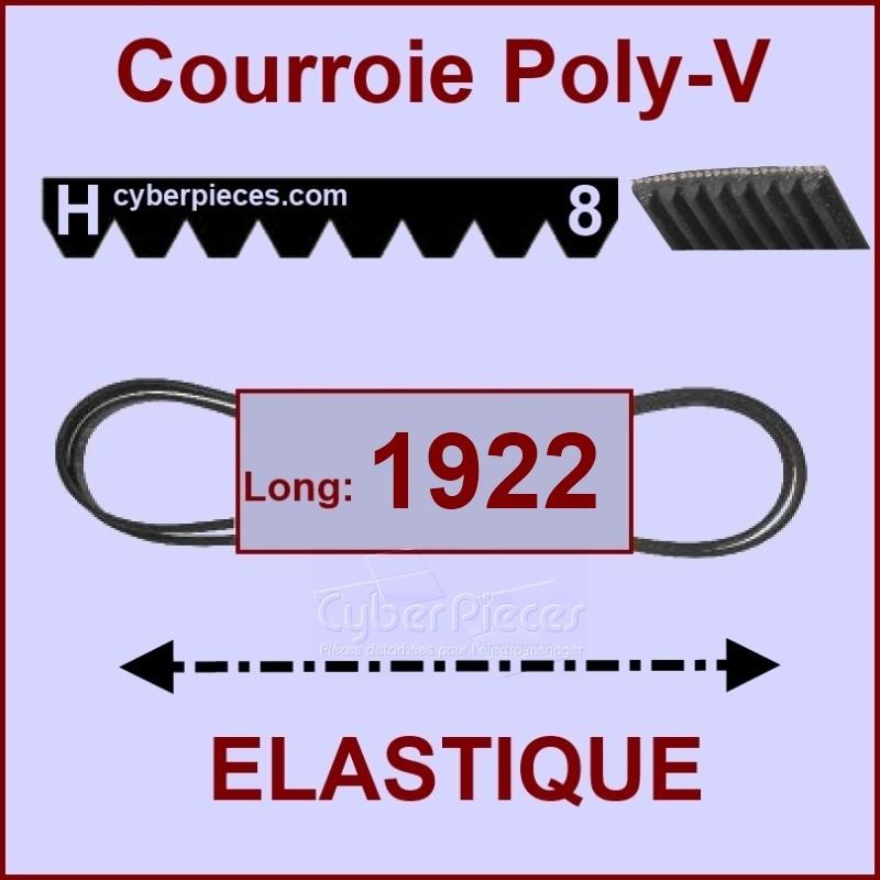 Courroie 1922H8 - EL- élastique