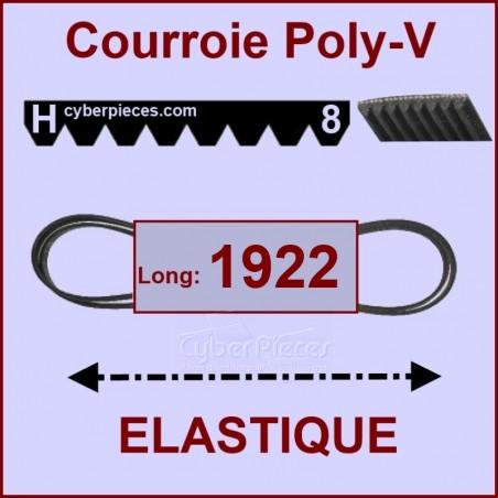 Courroie 1922 H8 - EL- élastique