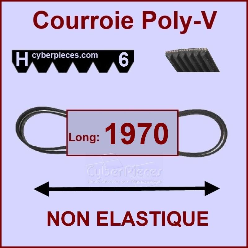 Courroie 1970H6 /  H7 non élastique