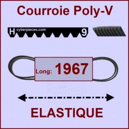 Courroie 1967H9 - EL - élastique CYB-005128