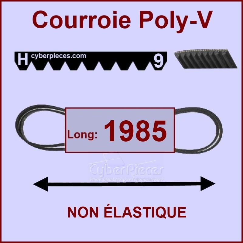 Courroie 1985H9 non élastique