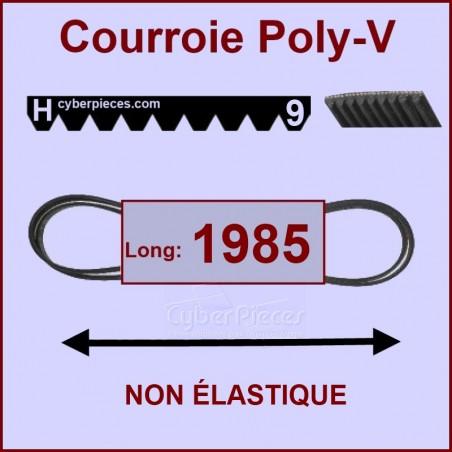 Courroie 1985 H9 non élastique