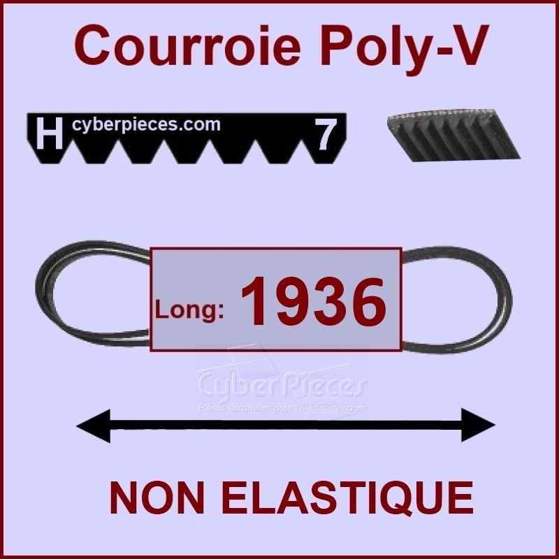 Courroie 1936H7 - non élastique