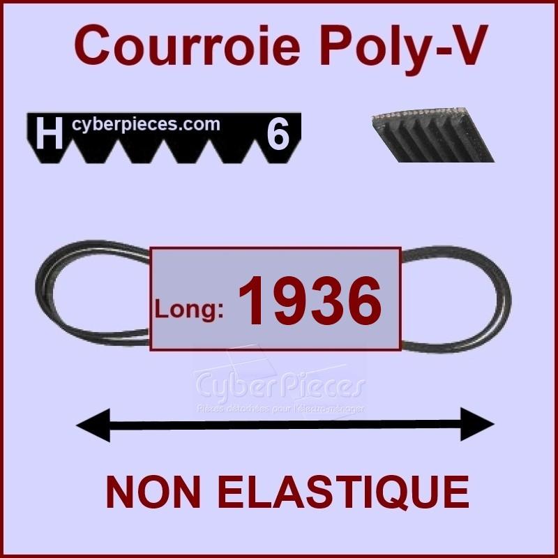Courroie 1936H6 non élastique