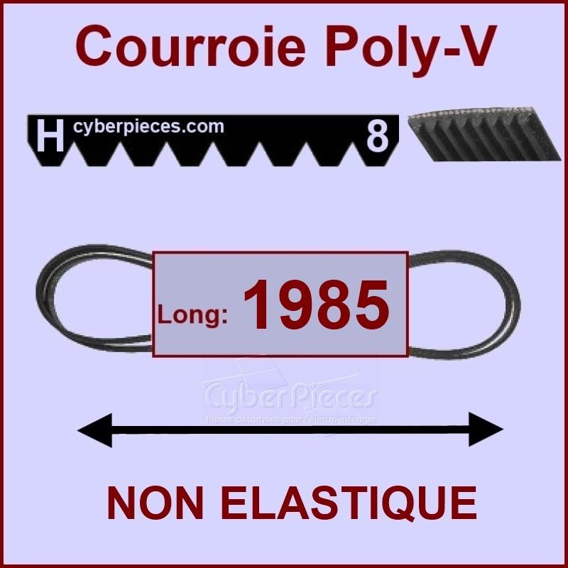Courroie 1985H8 non élastique