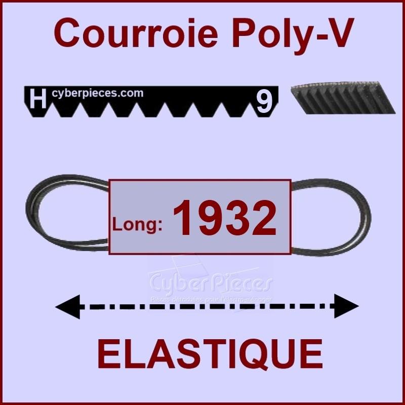 Courroie 1932H9 - EL- élastique