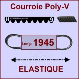Courroie 1945H9 - EL - élastique CYB-124874