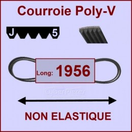 Courroie 1956J5 non élastique