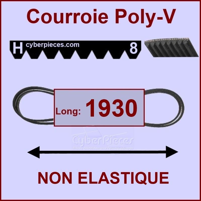 Courroie 1930H8 non élastique