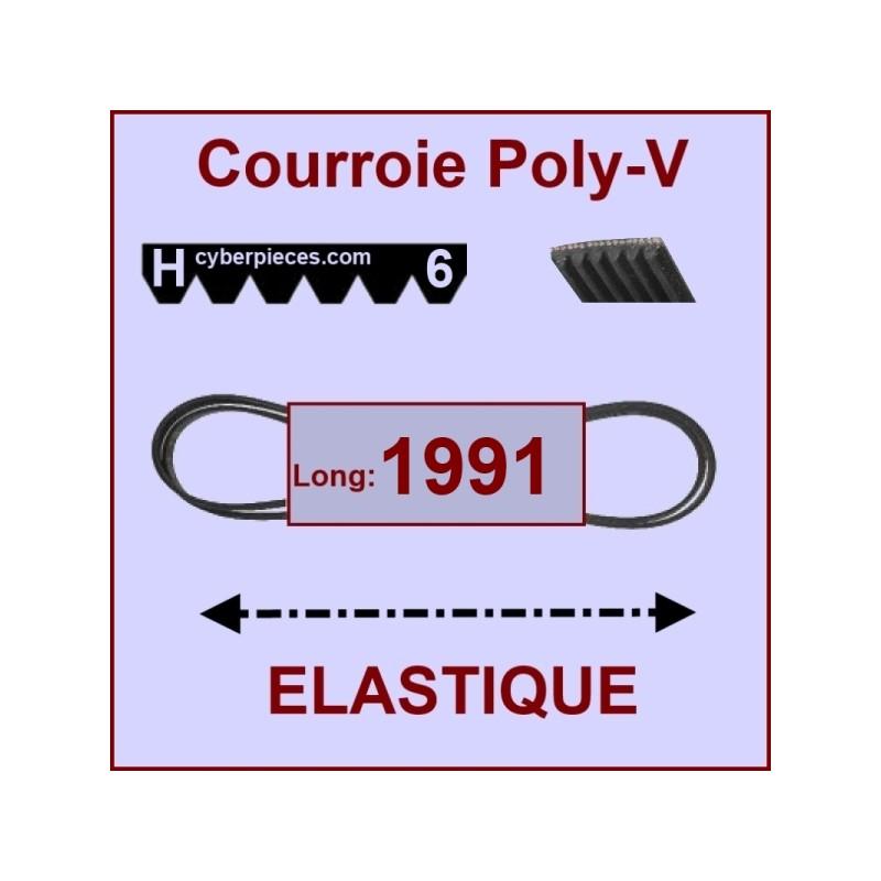 Courroie 1991H6/H8 - EL- élastique