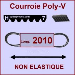 Courroie 2010H7 non élastique CYB-175609