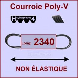 Courroie 2340H4 non élastique