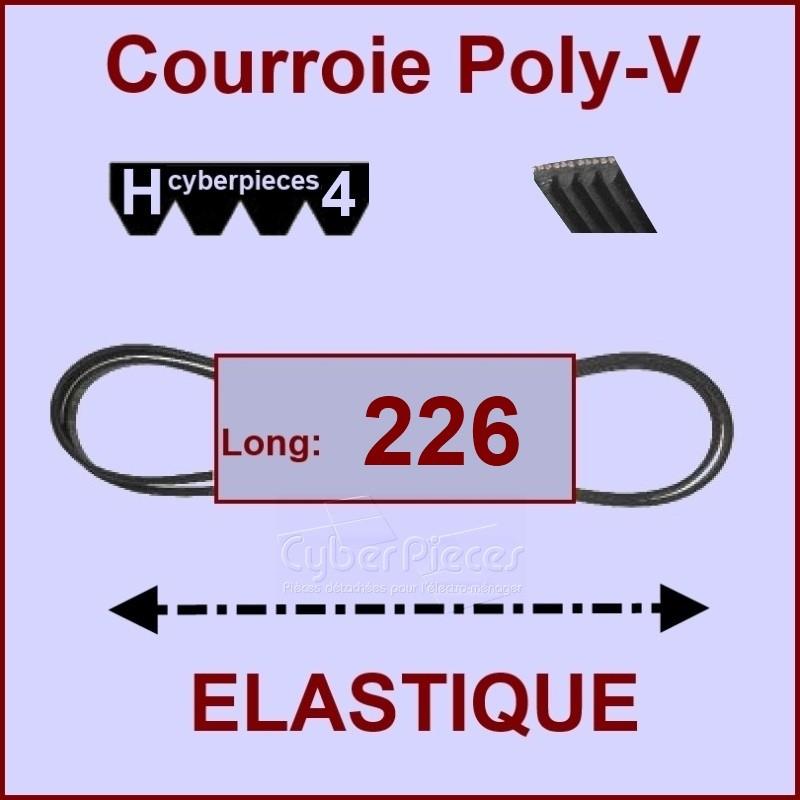 Courroie 226H4 -EL- élastique / 51x9840