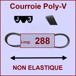 Courroie 288J3 non élastique CYB-280778
