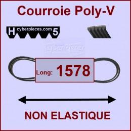 Courroie 1578H5 non élastique CYB-427616