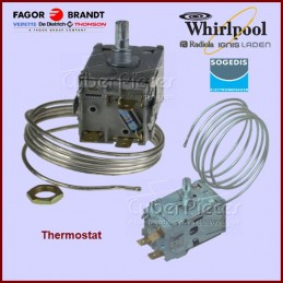 Thermostat A130057 / A130103 / A130599 Whirlpool 481927128788 GA-202435