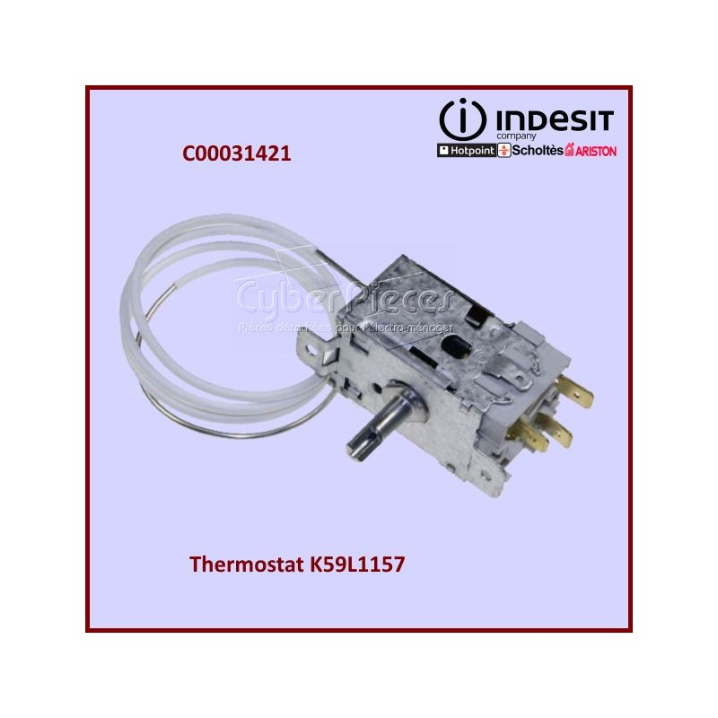 Thermostat K59L1157 Indesit C00031421