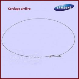 Cerclage arrière de joint de hublot Samsung DC9112077A CYB-307147